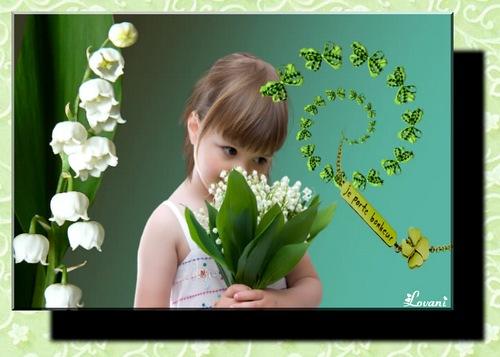 Pps: Le plaisir se ramasse, la joie se cueille, le bonheur se cultive. Joli 1er Mai. Lovani dans PPS muguet7